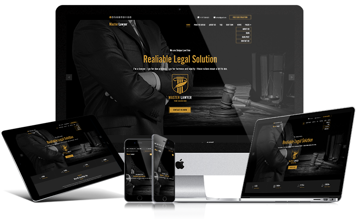 Lawyer responsive screen