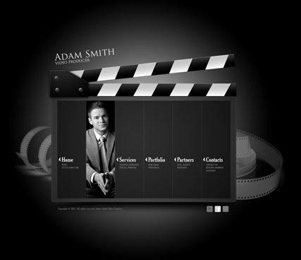 Video Producer HTML5 template ID:300111252