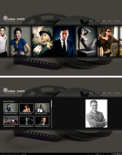 Producer - HTML5 Gallery Admin ID: 300111410 from bootstrap-template.com