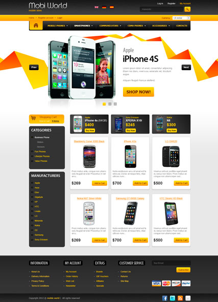 Mobi World v2.3 osCommerce ID:300111448
