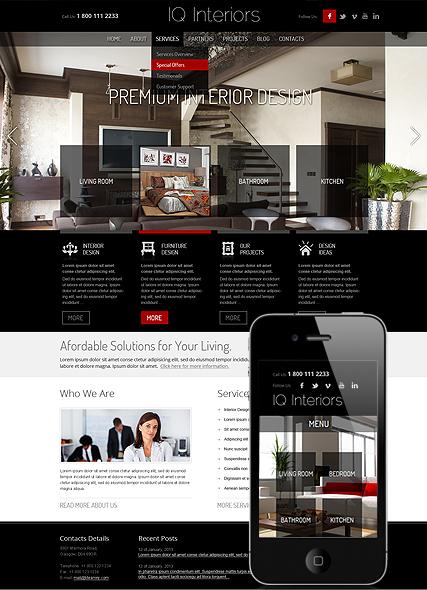 Affordable Home Interior Photo Album Website Home Interior Designer - Home remodeling website templates