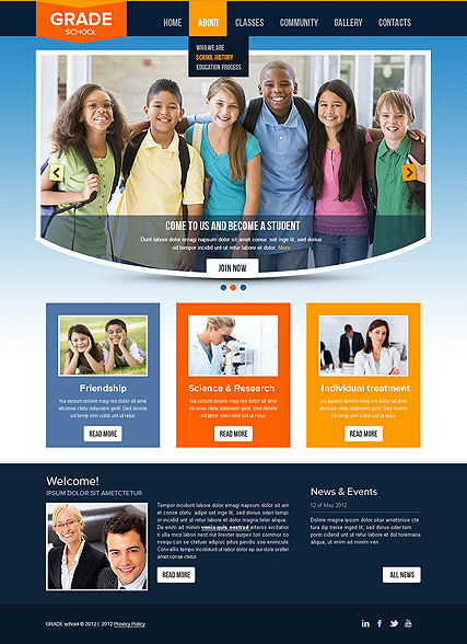 College HTML template ID:300111546