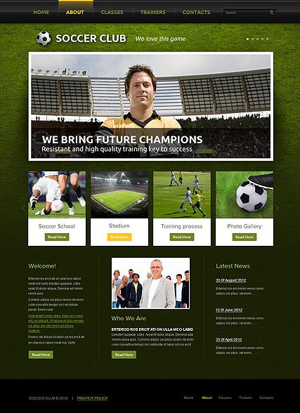 high school website templates
