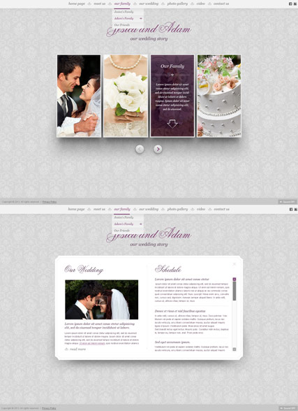 My Wedding HTML5 Gallery Admin ID:300111599