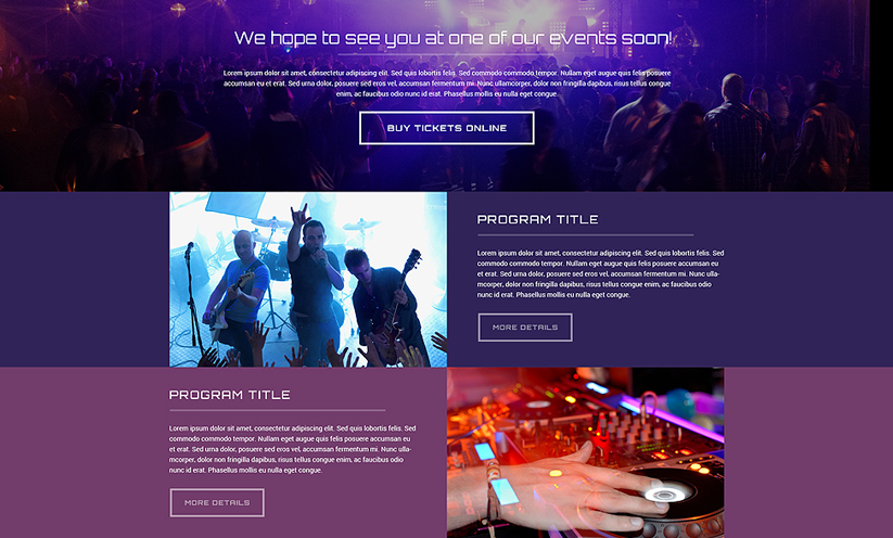 Radio Station Bootstrap template ID:300111827 Slide 1