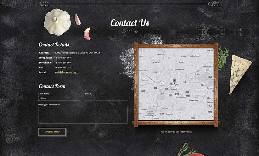 Pizza House Bootstrap template ID:300111917 Slide 2