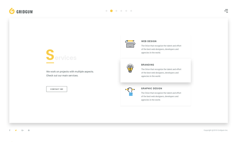 Freelancer Bootstrap template ID:300111933 Slide 1