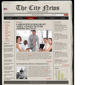 Newspaper HTML template ID: 300110478
