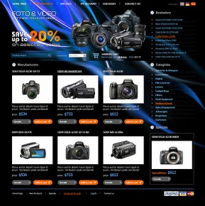 PhotoVideo Store osCommerce ID: 300110604