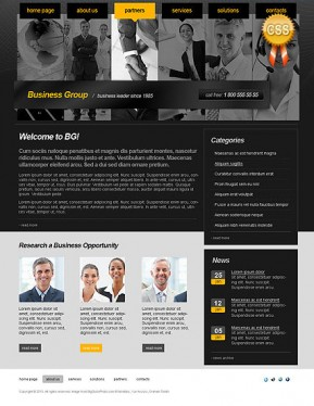 Business Group HTML template ID: 300110891