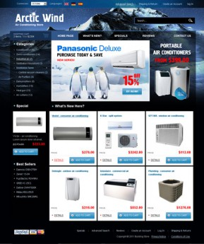 Air Conditioning 2.3ver osCommerce ID: 300110976