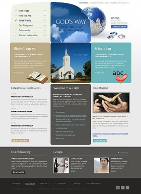 Church HTML template ID: 300110992