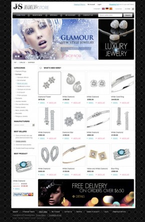 Jewelry store 2.3ver osCommerce ID: 300111011