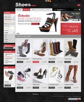 Shoes Store 2.3ver osCommerce ID: 300111046