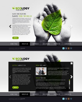 Ecology HTML5 template ID: 300111055