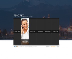 Profix co. HTML5 template ID: 300111087