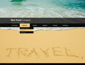 Travel co. HTML5 template ID: 300111089