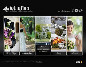 Wedding Planner HTML5 template ID: 300111117