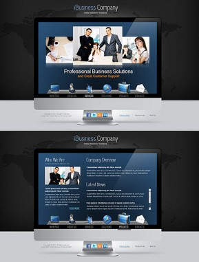 iBusiness HTML5 template ID: 300111157