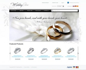 Wedding Store 2.3ver osCommerce ID: 300111186