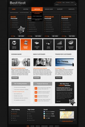 Best Hosting HTML template ID: 300111188