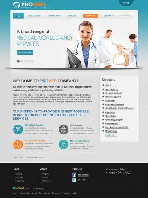 Pro Medical HTML template ID: 300111227