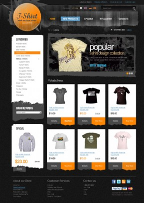 T-Shirt 2.3 ver osCommerce ID: 300111233
