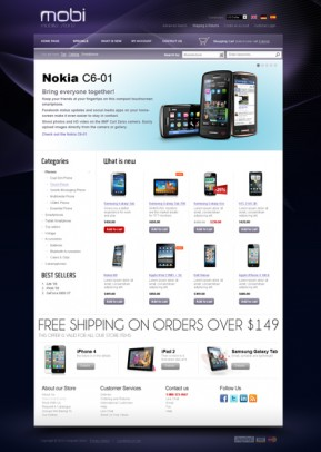 Cell Phone 2.3ver osCommerce ID: 300111241