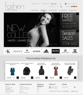 Fashion v2.3 osCommerce ID: 300111259