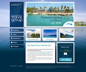 Travel HTML template ID: 300111261