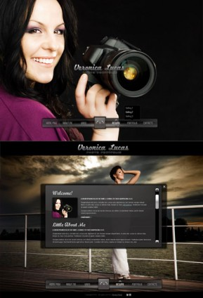 Photo Portfolio HTML5 template ID: 300111281