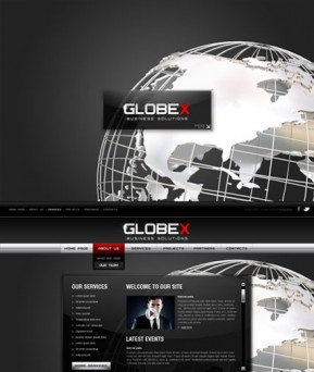 Global Business HTML5 template ID: 300111282