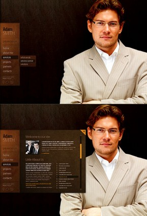 Private Lawyer HTML5 template ID: 300111283