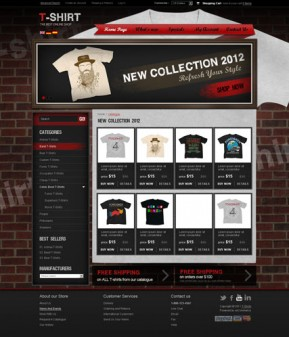T-shirts v2.3 osCommerce ID: 300111285