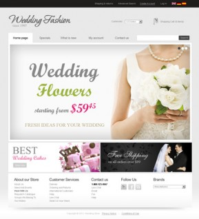 Wedding Store v2.3 osCommerce ID: 300111292