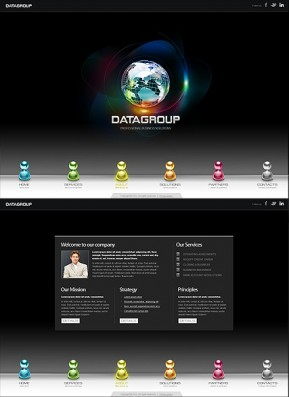 Data Group HTML5 template ID: 300111296