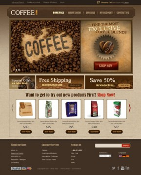 Coffee v2.3 osCommerce ID: 300111297