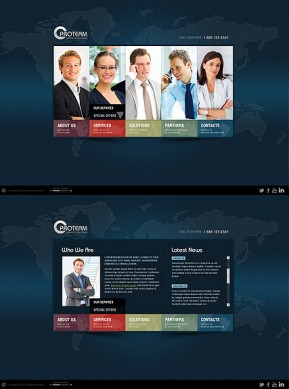 World Business HTML5 template ID: 300111317