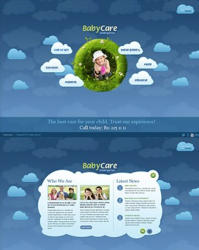 Kindergartnen HTML5 template ID: 300111325