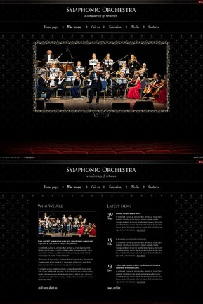 Orchestra HTML5 template ID: 300111332