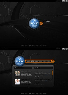 Communication Co. HTML5 template ID: 300111365
