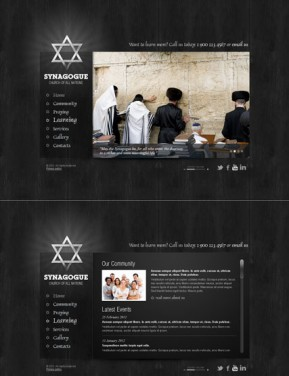 Synagogue HTML5 template ID: 300111391
