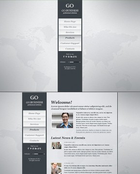 Go Business HTML5 template ID: 300111398