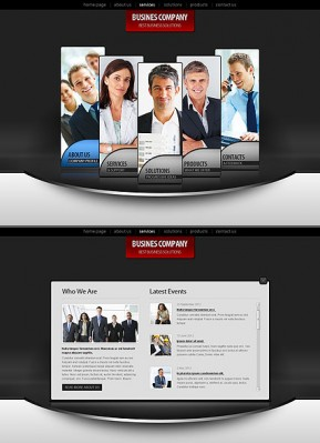 Business Co. HTML5 template ID: 300111401