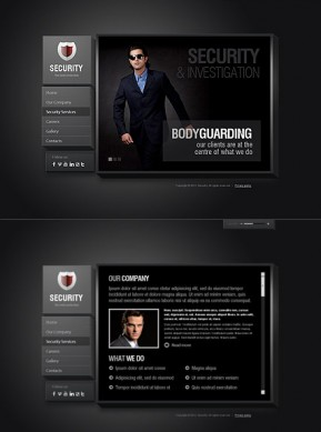 Security Service HTML5 template ID: 300111403