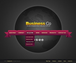 Business co. v2.5 Joomla template ID: 300111440
