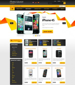 Mobi World v2.3 osCommerce ID: 300111448