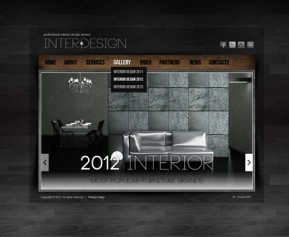 Interior Design HTML5 Gallery Admin ID: 300111460