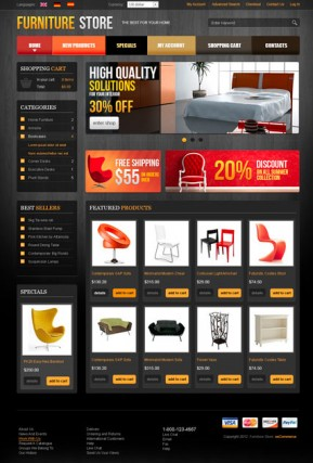 Furniture v2.3 osCommerce ID: 300111461