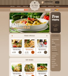 Food Store v2.3 osCommerce ID: 300111504